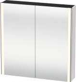 Duravit XSquare - Spiegelschrank mit Beleuchtung 800x800x155mm weiß hochglanz