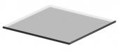 Ideal Standard Connect Space - Étagère en verre de 200 mm (pour 200 côté armoire mm)
