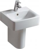 Ideal Standard Connect - Lave-mains 400x360 blanc sans revêtement