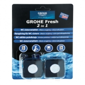 Grohe - Fresh Tabs 38882 2 x 50 g WC-Tabs