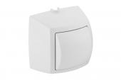 Geberit HyTouch - Handdrücker Aufputz für 1-Mengen-Spülung zu WC-Steuerung weiß