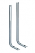 Geberit Kombifix - Repose-pieds (1 paire) pour WC ou bidet mural
