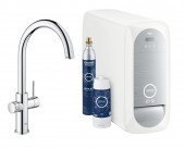 Grohe Blue Home - Starter Kit Bluetooth/WIFI C-Auslauf chrom 1