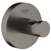 Grohe Essentials - Bademantelhaken hard graphite gebürstet