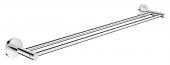 Grohe Essentials - Doppel-Badetuchhalter 600 mm