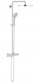 Grohe Euphoria - XXL System 310 Duschsystem mit Thermostatbatterie für Wandmontage