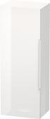 Duravit Happy D.2 - Halbhochschrank 360 x 500 x 1320 mm 1 Tür Anschlag links weiß hochglanz