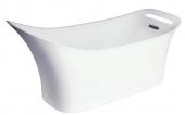 Hansgrohe Axor Urquiola - Freistehende Badewanne 1820 x 795 mm weiß