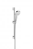 Hansgrohe Croma Select E - Multi Shower Set 0,65 m weiß / chrom