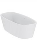 Ideal Standard DEA - Baignoire en ilot, en acrylique sanitaire, 1900 x 900 mm
