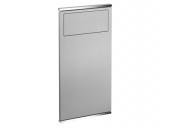 Keuco Plan - Module lavabo 1 aluminium / chromé