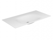 Keuco Edition 11 - Varicor bassin 31280, trou de m.2x1, blanc, 2450 mm