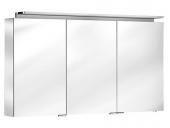 Keuco Royal L1 - Spiegelschrank mit Schubkasten silber-eloxiert 1300 x 742 x 150 mm