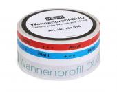 MEPA Wanneneinbau - Wannenprofil-DUO aus PE-Schaumstoff 3,30 m Länge