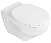 Villeroy & Boch O.novo - Siège de toilette sans fermeture amortie blanc