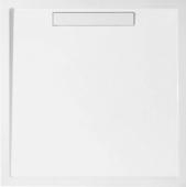 Villeroy & Boch Squaro - Bac à douche carrée 1000 x 1000 x 18 1000 x 1000 x 18 étoiles Superflat blanc