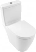 Villeroy & Boch Avento - Tiefspül-WC Kombi 370 x 640 mm DirectFlush weiß alpin mit CeramicPlus