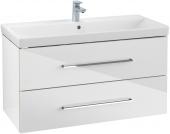 Villeroy & Boch Avento - Waschtischunterschrank 967 x 520 x 447 mm crystal white