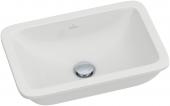 Villeroy & Boch Loop & Friends - Unterbauwaschtisch 450 x 280 mm mit CeramicPlus weiß