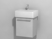 Duravit X-Large - Waschtischunterbau wandhängend Weiß Hochglanz Lack 400 mm