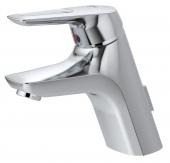 Ideal Standard CeraMix Blue - Einhebel-Waschtischarmatur mit Ablaufgarnitur mit Zugstangen-Ablaufgarnitur chrom
