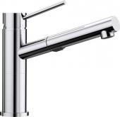 Blanco Alta-S Compact - Küchenarmatur Vario metallische Oberfläche Hochdruck chrom