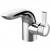 Ideal Standard Melange - Einhebel-Waschtischarmatur mit Ablaufgarnitur mit Zugstangen-Ablaufgarnitur chrom