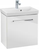 Villeroy & Boch Avento - Waschtischunterschrank 530 x 514 x 352 mm Anschlag links crystal white