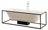 Bette Lux Shape - Freistehende Badewanne 1700 x 750 mm weiß ohne Gestell und Ablaufgarnitur
