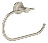 Grohe Essentials Authentic - WC-Papierhalter nickel gebürstet