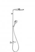Hansgrohe Raindance Select S - 2jet Showerpipe 300 mm weiß / chrom
