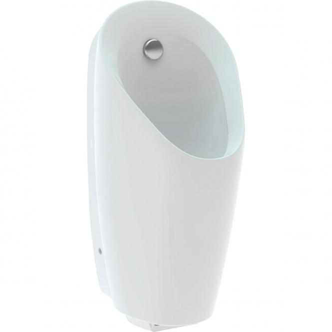 Geberit Preda - Urinal mit integrierter Steuerung Batteriebetrieb