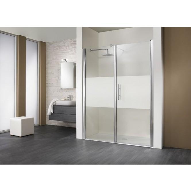 HSK - Room niche 2-piece, 41 chrome look custom-made, 54 Chinchilla