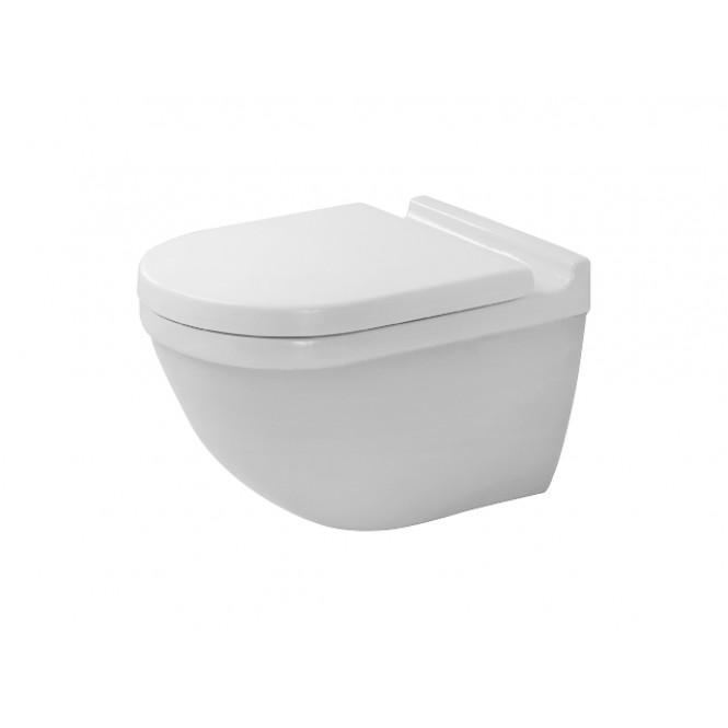 DURAVIT Starck 3 Wall-mounted washdown toilet SET with