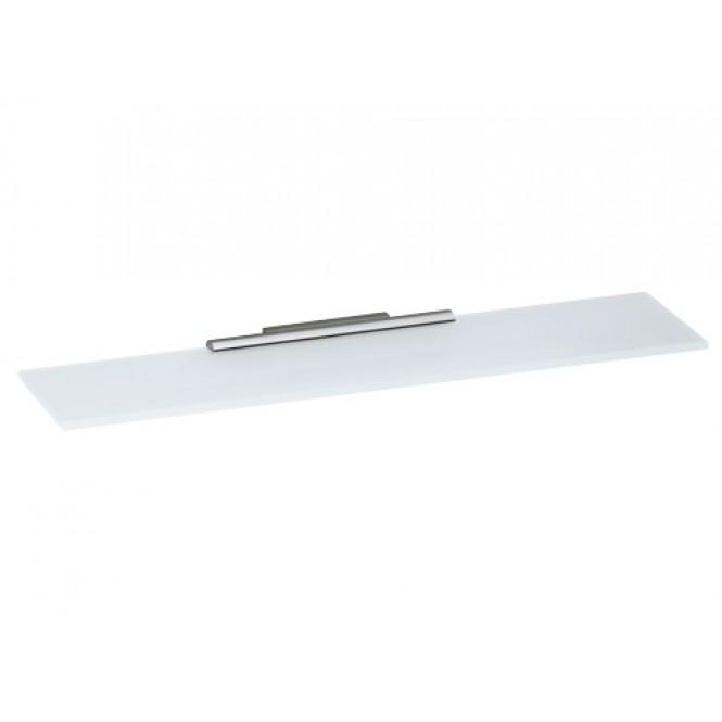 Keuco Plan - Cystalline glass shelf  mattfinished / green