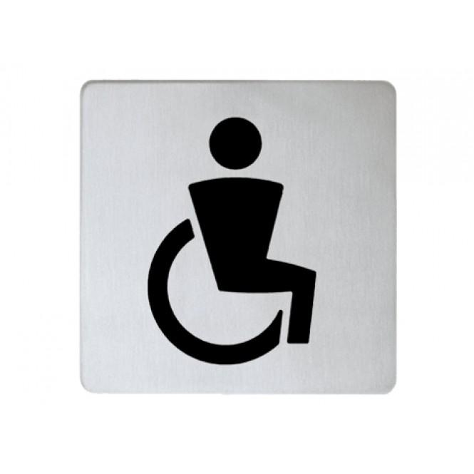 Keuco Plan - Doorplate symbol chrome-plated