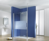 HSK Walk In Easy 1 - Walk In Easy 1 front element detached custom-made, 41 chrome-look, 56 Carré