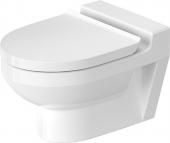 Duravit DuraStyle Basic - Wand-Tiefspül-WC für Kinder 480 mm rimless weiß mit WonderGliss