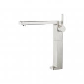 Dornbracht Lulu - Single Lever Basin Mixer L-Size without waste set platinum matt