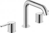 Duravit C.1 - 3-Loch Waschtischarmatur verlängerter Auslauf 222 x 560 x 88 mm
