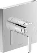 Duravit C.1 - Einhebel-Brausemischer Unterputz eckig 195 x 195 x 195 mm