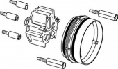 Ideal Standard Unterputz-Bausätze 1 - Extension for shower fitting kit UP 2