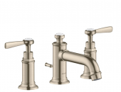 Axor Montreux - 3-Loch Waschtischarmatur 30 Hebelgriff brushed nickel
