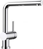 Blanco Linus-F - Küchenarmatur metallische Oberfläche Hochdruck chrom