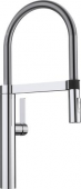 Blanco Culina-S - Küchenarmatur metallische Oberfläche Hochdruck chrom
