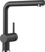 Blanco Linus-S - Küchenarmatur Silgranit-Look Hochdruck anthrazit