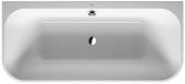Duravit Happy D.2 Plus - Badewanne 1800x800 mm mit Verkleidung Vorwandversion weiß/graphit matt
