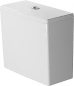 Duravit DuraStyle - Spülkasten mit DualFlush chrom Anschluss unten links weiß WonderGliss