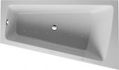 Duravit Paiova - Whirlwanne 1700 x 1000 mm weiß Ecke rechts mit Acrylverkleidung Combi E