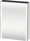 Duravit XSquare - SPS mit Beleuchtung 800x600x155 weiß hochglanz Türanschlag links